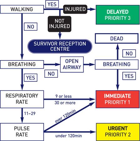 Triage Anesthesia Key